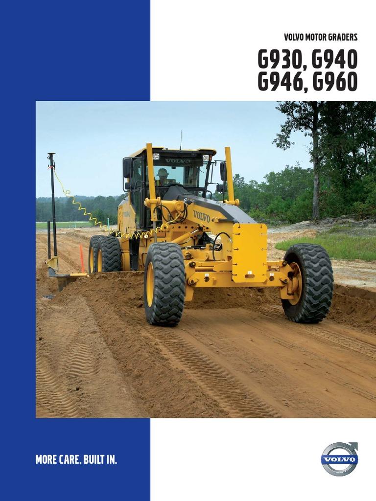 03 01 grederi volvo g930 pdf transmission mechanics automatic rh es scribd com Volvo Construction Equipment Volvo Equipment