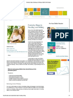 everyday steps to reading and writing   naeyc for families