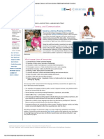 language literacy and communication   highscope preschool curriculum