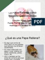 20 La Papa Rellena Como Negocio Gastronomico Renato Peralta