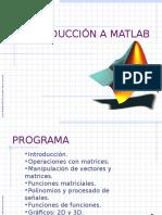 Introduccion a matlab