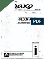Saxo Elec Introduction 1