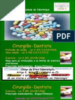 Videoconferencia Telesaude Fo Fm Ufmg Ses Terapeutica Farmacologica Em Odontologia