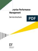 Ey Enterprise Performance Management Service Brochure