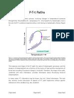 p-t paths