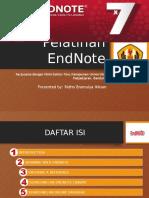 Pelatihan EndNote 21 May 2016