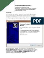 Configuración e instalación XAMPP
