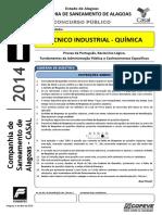 Prova - Tecnico Industrial - Quimica - Tipo 1