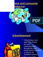 Advertisement & Consumer Behavoir