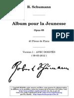 Schumann_Op 68_Album Pour La Jeunesse