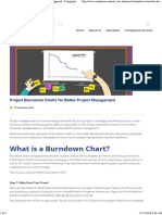 Project Burndown Charts for Better Project Management - Compliance Council