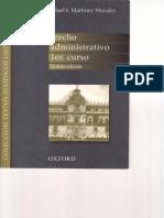 DERECHO ADMINISTRATIVO - 1er. CURSO - Rafael I. Martínez Morales.pdf