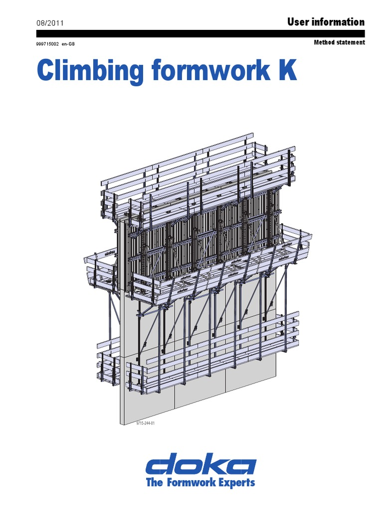 DOKA Formwork_Climbing Calculation | Scaffolding | Screw
