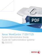 Xerox WorkCentre 7120 7125 System Administrator Guide