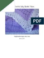 Adeline Baby Blanket Pattern - Printer Friendly