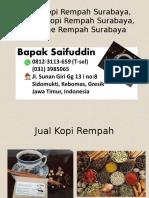0812-3113-659 (T-sel) Usaha Kopi Rempah Surabaya, Wedang Kopi Rempah Surabaya, Kopi Jahe Rempah Surabaya