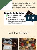 0812-3113-659 (T-sel) Produsen Kopi Rempah Surabaya, Jual Bubuk Kopi Rempah Surabaya, Minuman Kopi Rempah Khas Surabaya