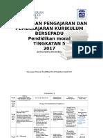 Rancangan Pengajaran Tahunan Pendidikan Moral Ting 4