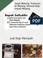 0812-3113-659 (T-sel) Jual Kopi Rempah Malang, Produsen Kopi Rempah Malang, Khasiat Kopi Rempah Malang