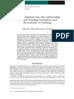training evaluation investigation.pdf