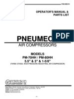 PNEUMECH High Pressure Operation Manual 2013