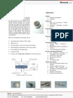 Isweek SO-D1-050 Limiting Current Type Sensor Oxygen Sensors - SO-D1-050-A100C A300C