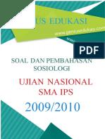 Soal November 1 Dan 2 (UN-Sosiologi 2009-2010)
