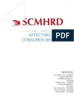 A STUDY ON FACTORS AFFECTING GREEN CONSUMER BEHAVIOR