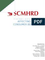 A STUDY ON FACTORS AFFECTING GREEN CONSUMER BEHAVIOR