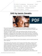 XAS by Iannis Xenakis for saxophone quartet.pdf