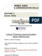 Critical Thinking Communication Skills