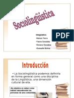 Sociolongüística