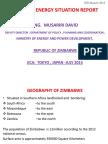 Zimbabwe Energy Situation Report