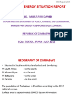 Zimbabwe Energy Situation Report