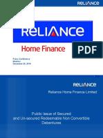 RHFL Investor Ppt Final v1 Mumbai