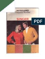 Instrucciones Maquina Auxiliar Singer