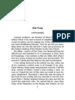 Autobiography of Hui-neng