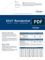Fort Collins Utilities - Residential Rates