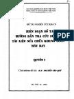 Biên Soạn Sổ Tay Hướng Dẫn Tra Cứu Sử Dụng Tài Liệu Sửa Chữa Khung Sườn Máy Bay (Quyển 1)