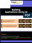Building Applications in C# - InTL