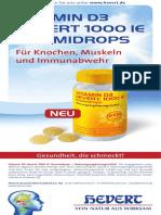 Flyer Vitamin D3