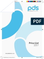 Pds Price List