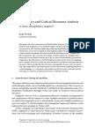 Pragmatics and Critical Discourse Analysis