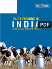 Dairy Farming in India - A Global Comparison