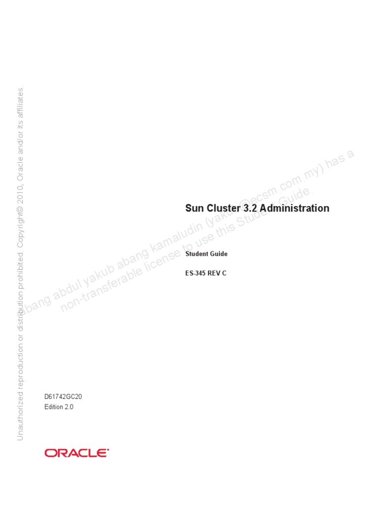 sun cluster 3 2 student guide computer cluster file system rh scribd com Oracle Solaris 11 Documentation Oracle Solaris 11 Express