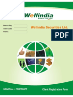 Wellindia Equity Including BSDA