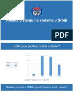 Anketa o stanju na vodama u Srbiji 2-1-2017