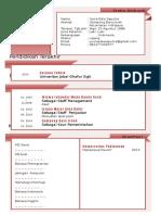 3 Download Contoh CV Atau Daftar Riwayat Hidup Terbaik File Word