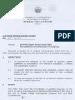CMO 28 2003 SGL Accreditation Clearance Procedures