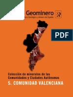 Minerales Comunidad Valenciana